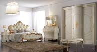 Комплект мебели для спальни - отделка золотистого цвета Camere