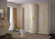Платяной шкаф с выдвежными дверцами с ефектом патины Camere