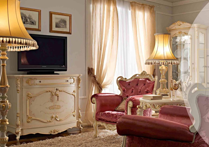 Alberto Mario Ghezzani Royal - комод барокко
