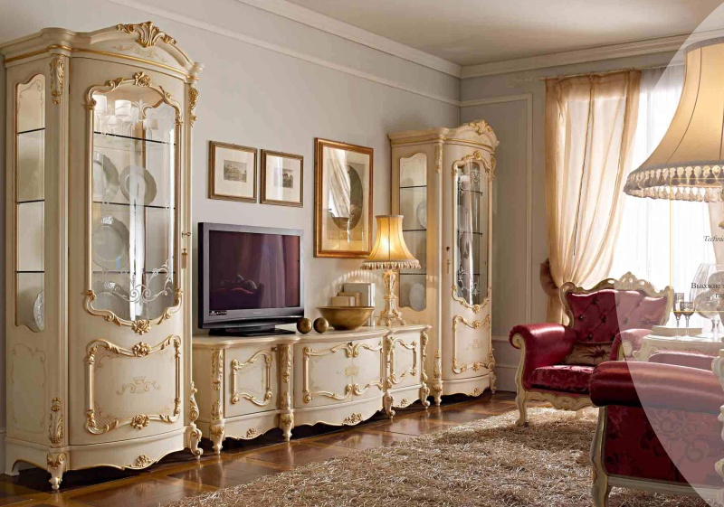 Alberto Mario Ghezzani Royal - тв композиция барокко