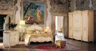 Гарнитур мебели для спальни бежевого цвета стиль классический Prestige