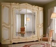 Платяной шкаф с центральными зеркальными дверьми Prestige