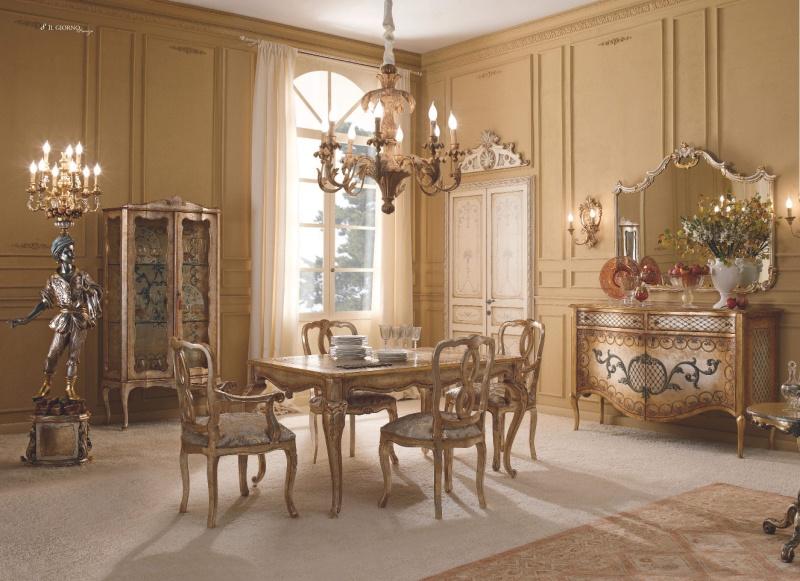 Классическая мебель для гостиной - золото - IL Giorno