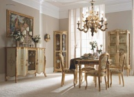 Мебель для столовой белая с золотом - IL Giorno Andrea Fanfani