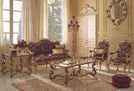 Гарнитур для гостиной с позолотой классика Giorno