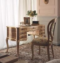 Письменный столик в золоте с выдвежными ящиками Giorno Andrea Fanfani