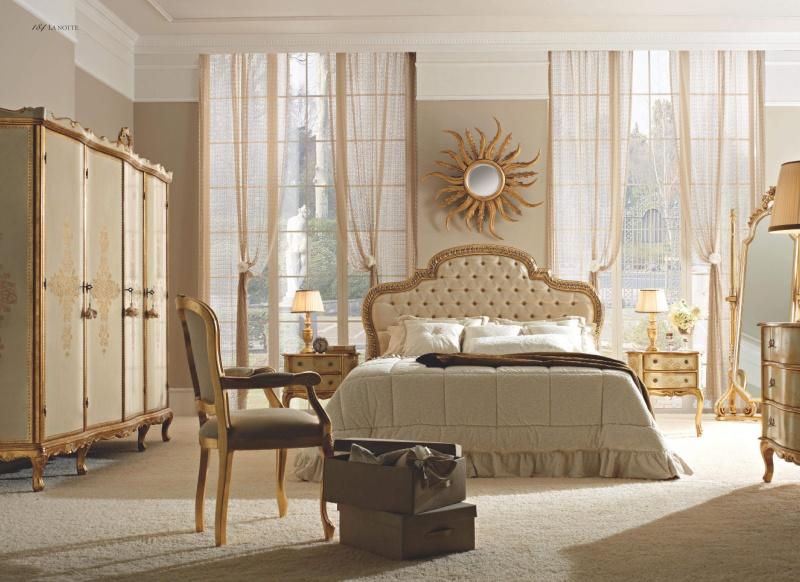 Гарнитур мебели для спальни - бежевого цвета Notte