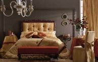 Antico Borgo Grace - кровать обивка бордо