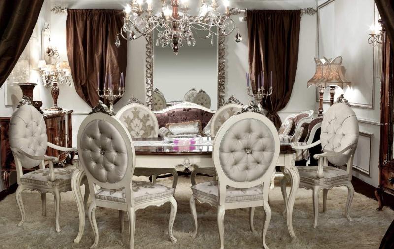 Antico Borgo Living - белая мебель для столовой
