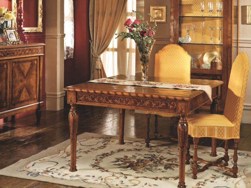 Столовый стол с инкрустацией Antico Borgo Neoclassico