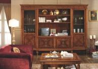 Гарнитур для столовой орехового цвета  Antico Borgo