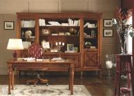 Прямоугольный письменный стол в коричневом цвете Antico Borgo