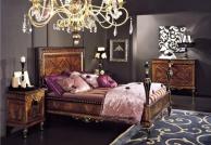 Antico Borgo Neoclassico Gold - итальянская спальня в цвете орех