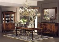 Мебель для столовой с резным декором - цвет орех Antico Borgo Neoclassico Gold