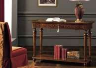 Деревяный стол с полочкой Antico Borgo Ottocento