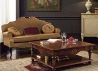 Журнальный квадратный столик для гостиной Antico Borgo Ottocento