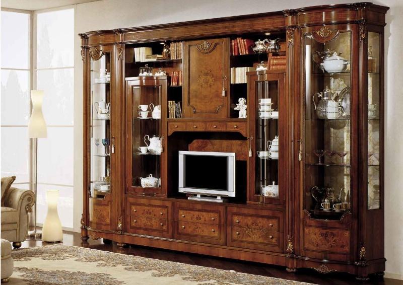 Шкаф с ТВ классического стиля Antonelli Moravio AM