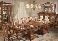 Мебель для столовой - массив дерева с резным декором Antonelli Moravio AM