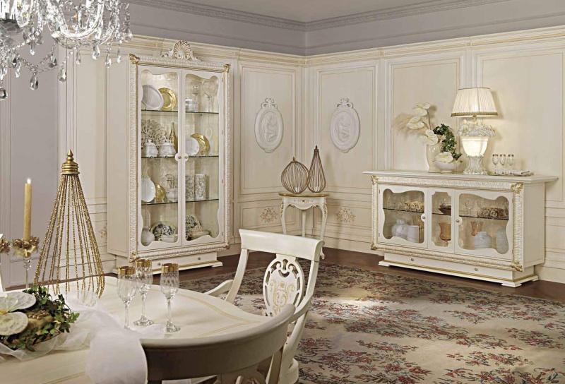 Гостиный гарнитур в молочном цвете Antonelli Moravio AM