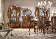 Современная мебель в столовую орехового цвета Antonelli Moravio AM