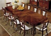Столовый стол отделка радика - цвет орех Antonelli Moravio AM