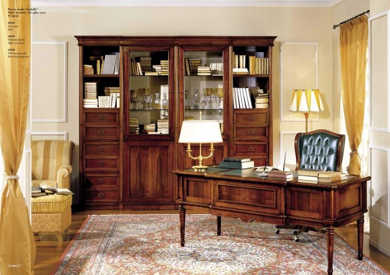 Итальянский кабинет в классическом стиле Antonelli Moravio AM