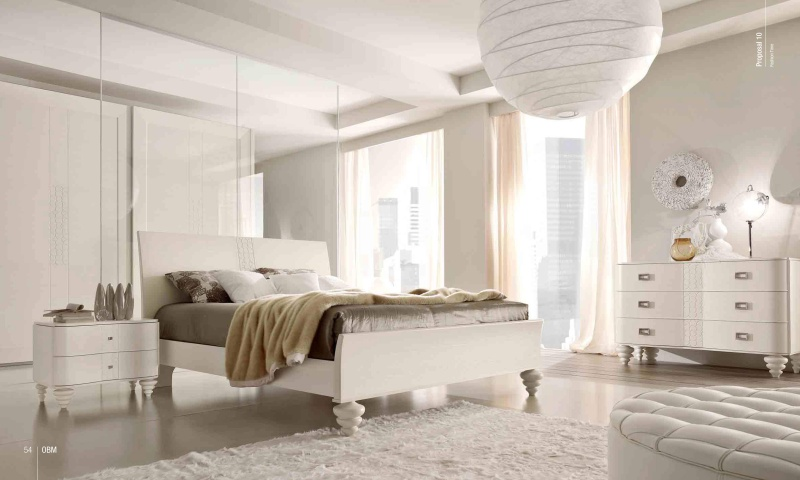 Белая спальня модерн - Италия - Fashion Time Barnini Oseo