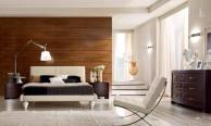Спальная кровать на фигурных ножках - модерн Fashion Time Barnini Oseo