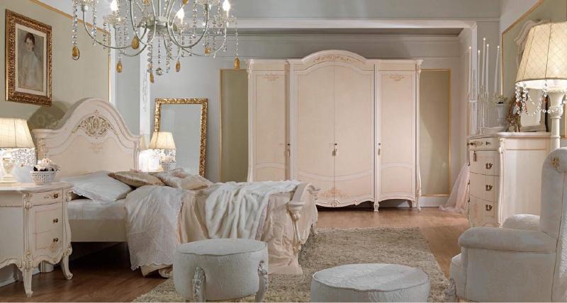 Белый спальный гартинутр - Италия - Prestige Barnini Oseo