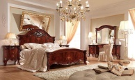 Спальная кровать - классического стиля Prestige Barnini Oseo