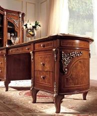 Письменный стол отделка ручная резьба Reggenza
