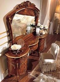 Туалетный стол с инкрустацией Reggenza