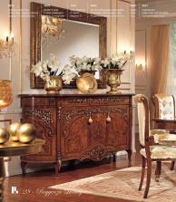 Комод с двумя створками и зеркалом - стиль классический Reggenza