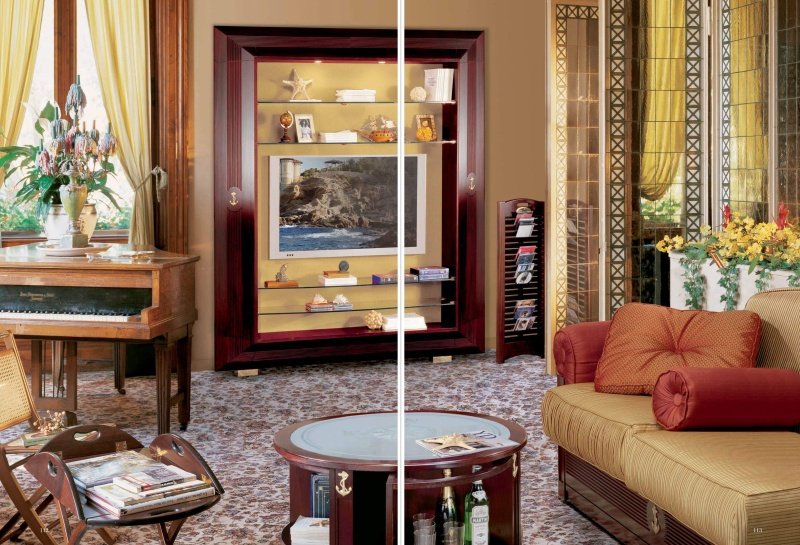 Гостиная мебель классического стиля Vecchia Marina  Caroti
