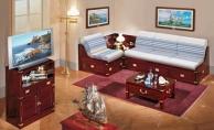 Гостиный гарнитур мебели - красное дерево Vecchia Marina  Caroti