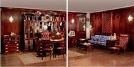 Итальянская мебель для кабинета  в яхтенном стиле Vecchia Marina  Caroti