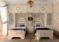 Две детские кровати с изголовьем в виде паруса Vecchia Marina  Caroti