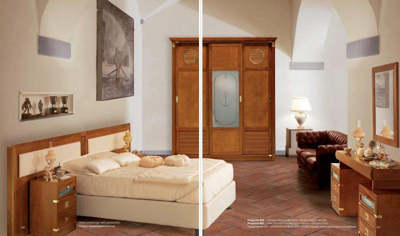 Спальная кровать для отелей Vecchia Marina  Caroti