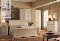 Комплект спальной мебели с патиной  - цвета слоновой кости Armadi 2010