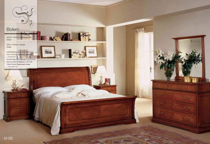 Гарнитур мебели для спальни - цвет орех Bolero 2010