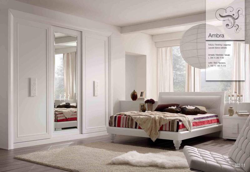 Мебель в спальню в белом цвете Ambra 2010