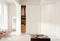 Белый угловой шкаф - модерн - Il Componibile