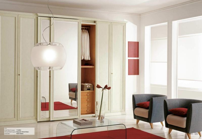 Шкаф-купе с раздвежными зеркальными дверьми Il Componibile