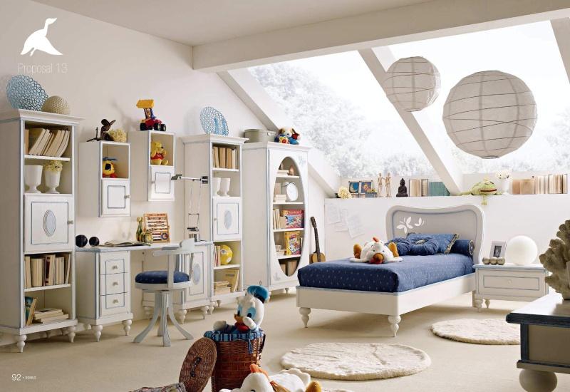 Комплект детской мебели в классическом стиле Il Componibile