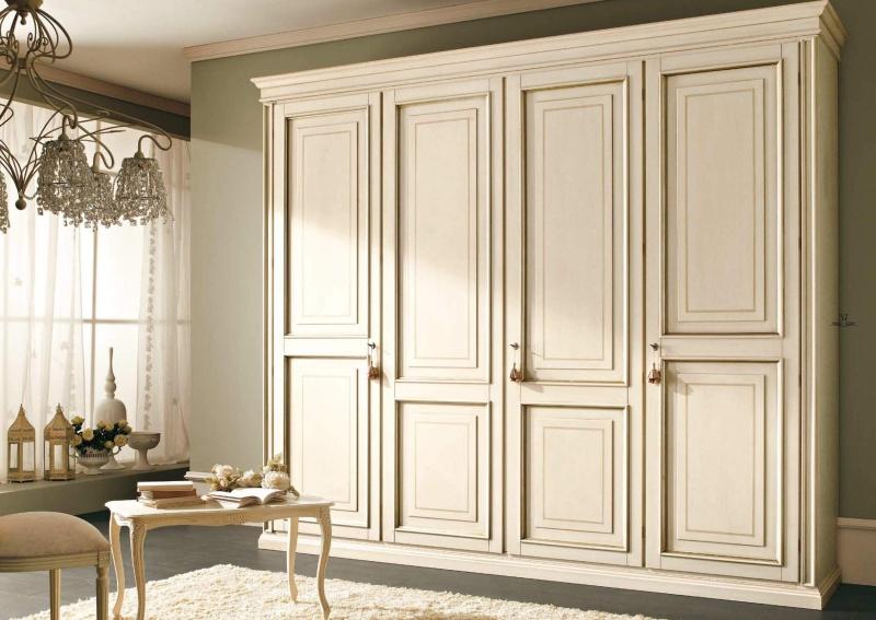Шкаф слоновая кость - стиль классический - Tiziano
