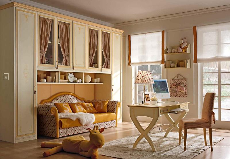 Набор мебели в детскую комнату для девочки Happy Night
