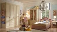 Комплект мебели в детскую для девочки в бежево-розовом цвете  Happy Night