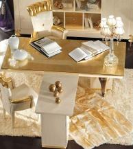 Стол в кабинет арт-деко - Blue Diamond  Lanpas