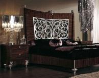Кровать с высоким изголовьем Blue Diamond  Lanpas
