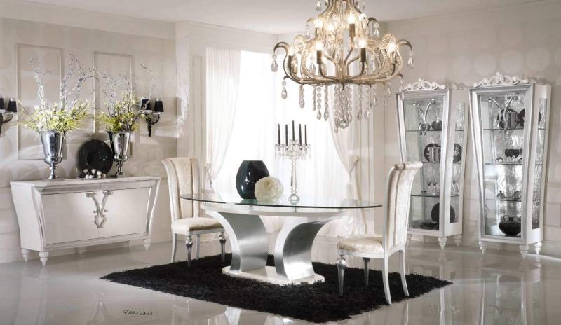 Столовая комната в неоклассическом стиле Ellelux